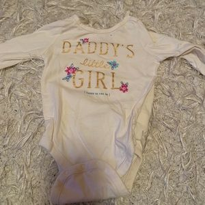 Gap kids baby girl onesie